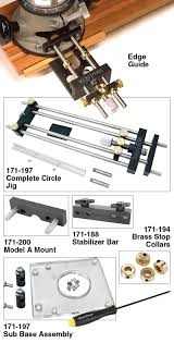 Woodworker Com Micro Fence Edge Guide System And Circle Jig