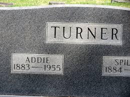 Addie Turner (1883-1955) - Find A Grave Memorial