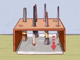 how to dry makeup brushes 7 steps