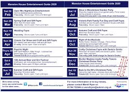"""The Mansion House on Twitter: """"All in on place! Huge range of great events  coming to the Mansion House during 2020, For more information or to buy  tickets,see social media for the"""