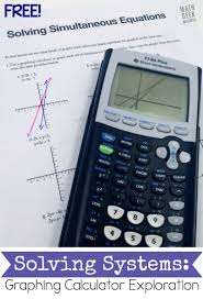 graphing systems of equations activity
