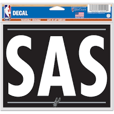 San Antonio Spurs Car Decals Spurs Bumper Stickers Decals Fanatics