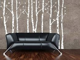 Birke Baum Wall Decal Birke Baum Decal Von Vinylwalladornments Birch Tree Wall Decal Birch Tree Decal Wall Decals