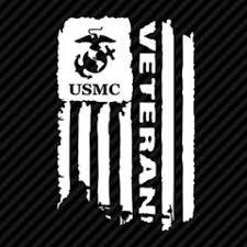 Wall Art Vinyl Decal For Window Usmc Veteran Flag Poshmark