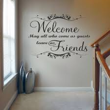 Welcome May All Who Come V1 Wall Decal Sticker Quote Lounge Hall Bedroom Living Room Quotes Wall Quotes Decals Wall Quotes