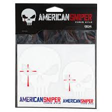 Chris Kyle American Sniper Skull Decal Walmart Com Walmart Com