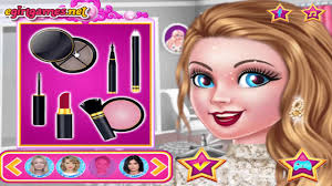 barbie dress up games for s makeup
