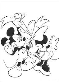 Print Minnie Mouse Kleurplaat Minnie Mouse Coloring Pages