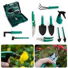 portable gardening tools kit 10pieces