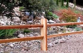 Pin By Rebecca Barton On Fence Backyard Fences Cedar Split Rail Fence Fence Landscaping