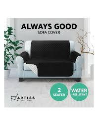 artiss sofa cover quilted couch covers