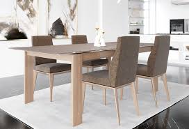glass extension dining table set