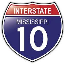 Mississippi 10 Usa Interstate Shield Car Bumper Sticker Decal Sizes Home Garden Decor Decals Stickers Vinyl Art