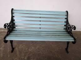 vintage outdoor garden bench seat