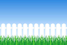 Background Of Green Grass And Fence Download Free Vectors Clipart Graphics Vector Art