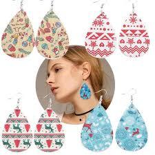 american earrings drop shaped