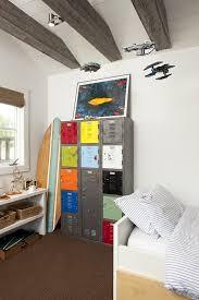 10 Ideas To Use Lockers As Kids Room Storage Boys Room Decor Storage Kids Room Boy Room