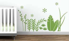 Tropical Grass Wall Decal Littlelion Studio