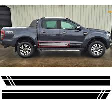 Car Stickers Side Door Stripes Racing Styling Graphic Vinyls Decals Custom For Ford Ranger Vinyl Stickers Graphic Stickerstripe Sticker Aliexpress
