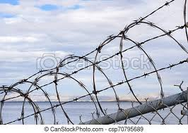 Razor Barbed Wire Security Fence California