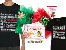 dance gift cards