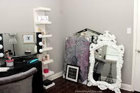 makeup room beauty room set up before