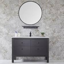 china modern round mirror floor mounted