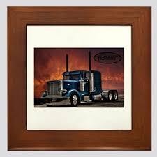 Semi Truck Wall Art Cafepress