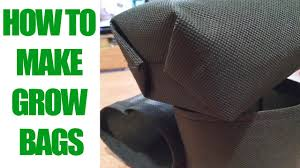 how to make an easy grow bag in 5