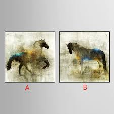 unframed canvas printings horse series