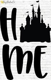 Disney Home Decal Castle Decal Cinderella Castle Decal Etsy In 2020 Disney Home Cinderella Castle Permanent Vinyl