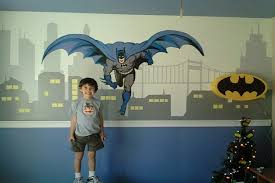 Batman Room Decor Kids Modern Design From How To Decorate A Room With A Batman Theme Pictures