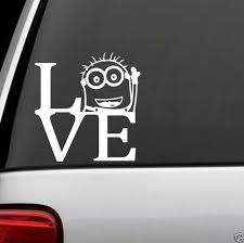 Minion Despicable Me Peeking Decal Sticker For Car Truck Suv Van Xbox Ps4 For Sale Online Ebay