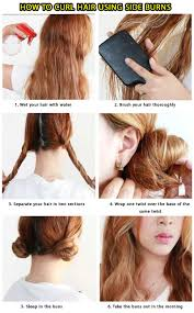 curl your hair without a curling iron