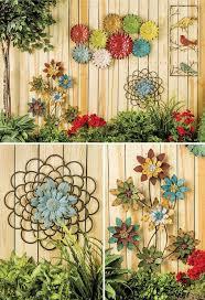 13 Garden Fence Decoration Ideas To Follow Garden Wall Decor Fence Art Yard Art