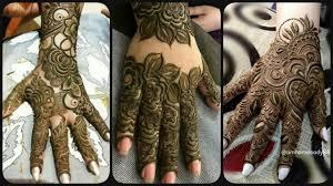 easy khafif mehndi designs