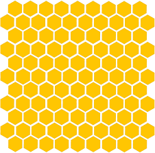Amazon Com Minglewood Trading Honeycomb 104 1 Vinyl Decal Stickers Bee Honey Home Accent Geometric Yellow Automotive