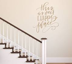 This Is Our Happy Place Wall Decal Pottery Barn