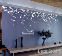 white vinyl sticker wall decal for