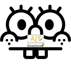 Spongebob Face Vinyl Car Decal Laptop Decal Etsy