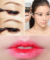 korean makeup tutorial and pictures