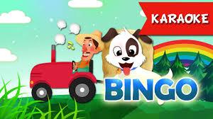 BINGO Karaoke   Ca Nhạc Thiếu Nhi Vui Nhộn   Học Tiếng Anh Qua Bài Hát -  YouTube