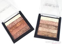 makeup revolution shimmer brick