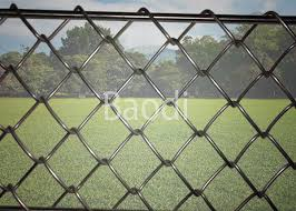 Hot Dip Galvanized Chain Link Mesh Fence 1m 50m Roll Length High Strength