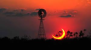 sunset scenery landscape sun texas