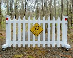 6 Ft Free Standing Wooden Driveway Gate To Help Kids Stay Safe Sentinel Gates