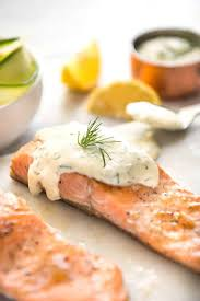 Creamy Dill Sauce for Salmon or Trout ...
