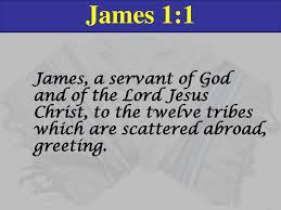 James James Chapter 1 An epistle written by Jacob to the ...