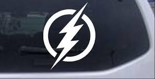 The Flash Symbol Logo Car Or Truck Window Decal Sticker Rad Dezigns