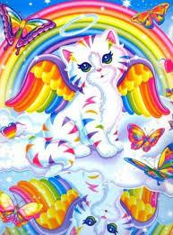 Angel Cat Made By Lisa Frank Lisa Frank Stickers Lisa Frank Rainbow Kittens
